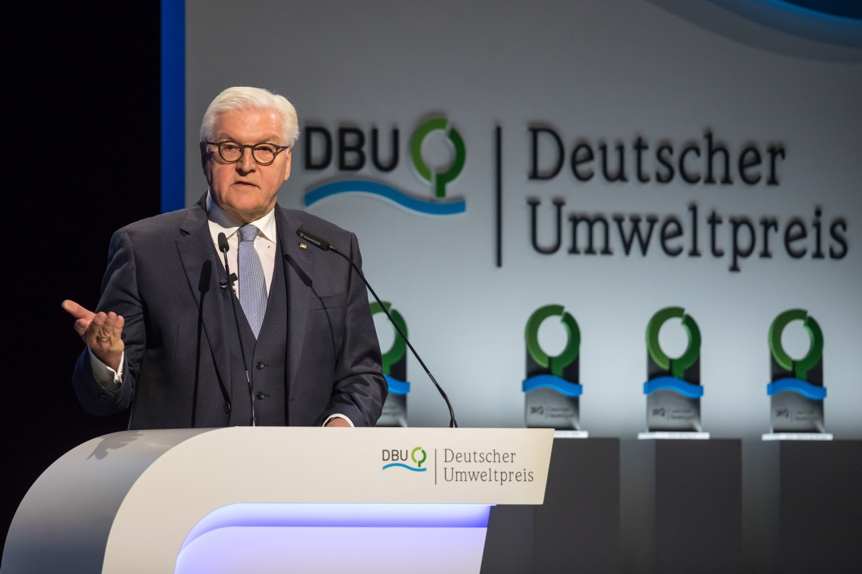 Leistung Eventfotografie - Verleihung Deutscher Umweltpreis mit Bundespräsident Frank-Walter Steinmeier - arifoto